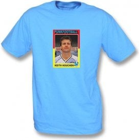 Keith Houchen 1987 (Coventry City) Sky Blue T-Shirt