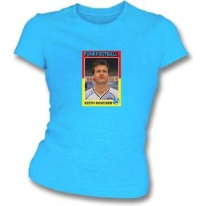 Keith Houchen 1987 (Coventry City) Sky Blue Women's Slimfit T-Shirt