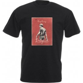 "Kenny Dalglish ""King Kenny"" Vintage Poster T-Shirt"