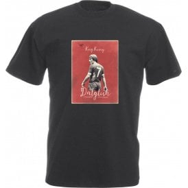 "Kenny Dalglish ""King Kenny"" Vintage Poster Vintage Wash T-Shirt"