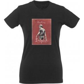 "Kenny Dalglish ""King Kenny"" Vintage Poster Womens Slim Fit T-Shirt"
