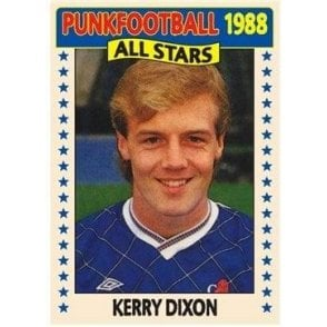 Kerry Dixon 1988 (Chelsea) Royal Blue Women's Slimfit T-shirt