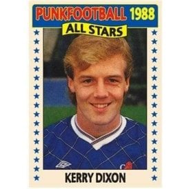 Kerry Dixon 1988 (Chelsea) Royal Blue Women's Slimfit T-shirt