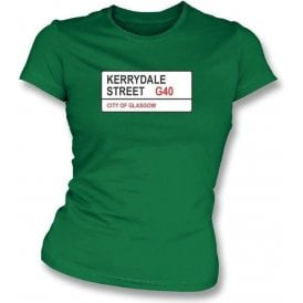 Kerrydale Street G40 Women's Slimfit T-Shirt (Celtic)