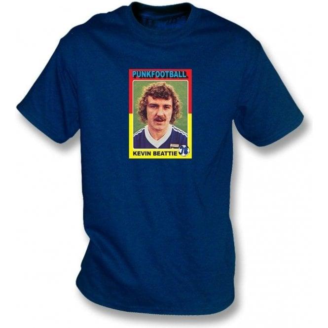 Kevin Beattie 1978 (Ipswich Town) Navy T-Shirt
