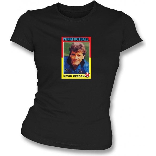 Kevin Keegan 1994 (Newcastle United) Black Women's Slimfit T-Shirt