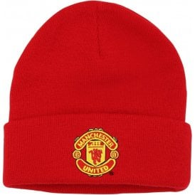 Kids Manchester United FC Core Beanie