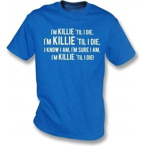 Killie 'Til I Die (Kilmarnock) Kids T-Shirt