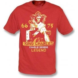King Charles - Charlie George (Arsenal) T-shirt