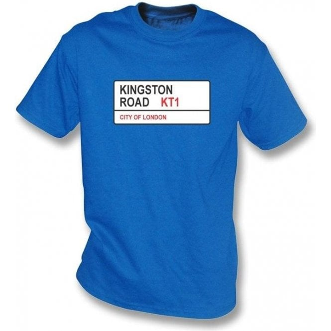 Kingston Road KT1 T-Shirt (AFC Wimbledon)