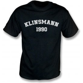 Klinsmann 1990 (Germany) Kids T-Shirt