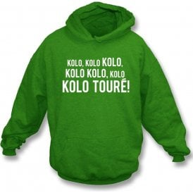 Kolo Toure (Celtic) Kids Hooded Sweatshirt