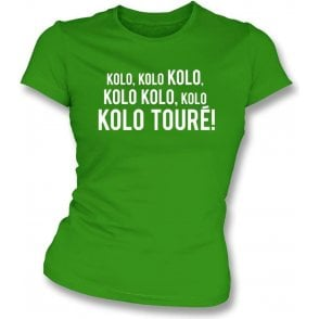 Kolo Toure (Celtic) Womens Slim Fit T-Shirt