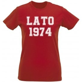 Lato 1974 (Poland) Womens Slim Fit T-Shirt