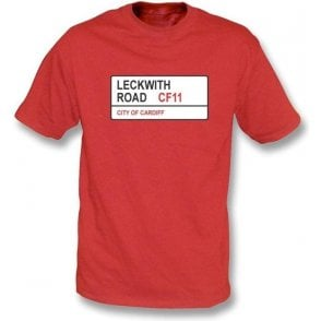Leckwith Road CF11 T-Shirt (Cardiff City)