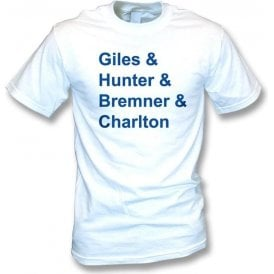 Leeds 70's Legends t-shirt