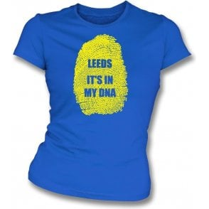 Leeds - It's In My DNA Womens Slim Fit T-Shirt