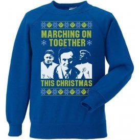 Leeds: Marching On Together This Christmas Sweatshirt
