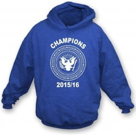 Leicester City Premier League Champions 2015/16 (Ramones Style) Kids Hooded Sweatshirt