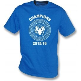 Leicester City Premier League Champions 2015/16 (Ramones Style) Kids T-Shirt