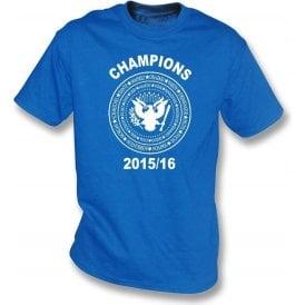 Leicester City Premier League Champions 2015/16 (Ramones Style) T-Shirt