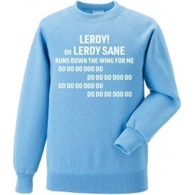 Leroy Sane (Manchester City) Chant Sweatshirt