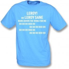 Leroy Sane (Manchester City) Chant T-Shirt