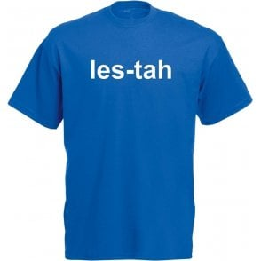 Les-tah (As Worn By Serge Pizzorno, Kasabian) T-Shirt
