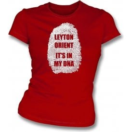Leyton - It's In My DNA Womens Slim Fit T-Shirt