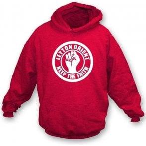 Leyton Orient Keep the Faith Hooded Sweatshirt