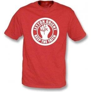 Leyton Orient Keep the Faith T-shirt