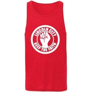 Lincoln City Keep The Faith Men's Tank Top