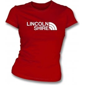 Lincolnshire (Lincoln City) Womens Slim Fit T-Shirt
