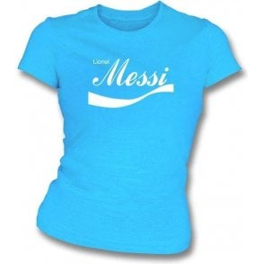 Lionel Messi (Argentina) Enjoy-Style Women's Slim Fit T-shirt