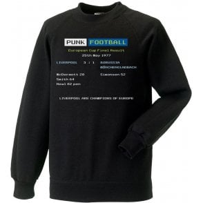 Liverpool 1977 Ceefax Kids Sweatshirt