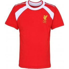 Liverpool FC Kids Performance T-Shirt