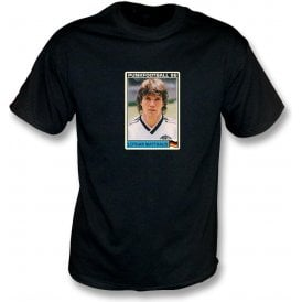 Lothar Matthaus 1986 (Germany) Black T-Shirt