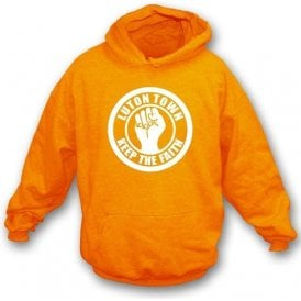 Luton Keep the Faith Hooded Sweatshirt