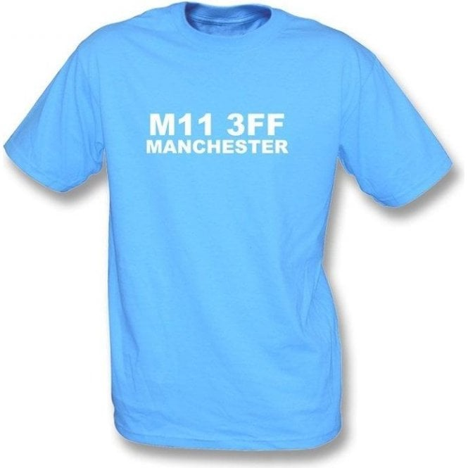 M11 3FF Manchester T-Shirt (Man City)