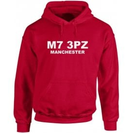 M7 3PZ Manchester Kids Hooded Sweatshirt (Salford City)