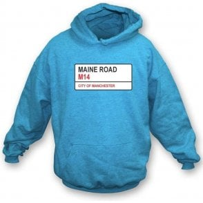 Maine Road M14 (Man City) Hooded Sweatshirt