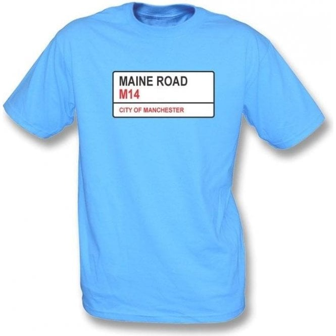 Maine Road M14 (Man City) T-Shirt