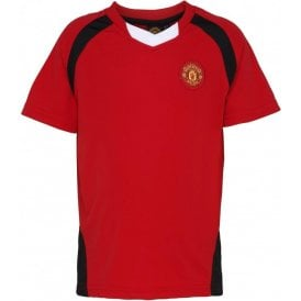 Manchester United FC Kids Performance T-Shirt