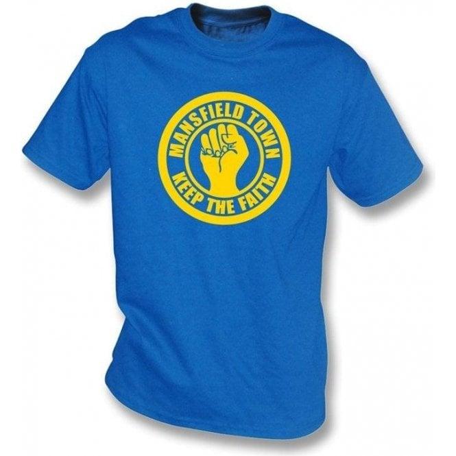 Mansfield Keep the Faith T-shirt