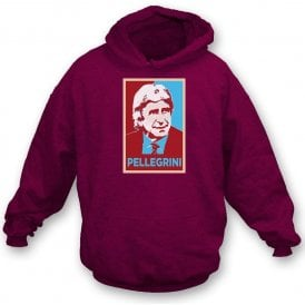 Manuel Pellegrini - Hope Poster (West Ham) Kids Hooded Sweatshirt