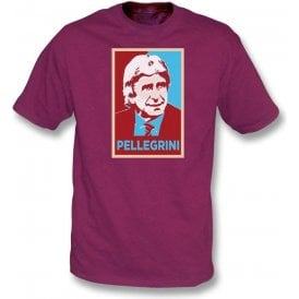 Manuel Pellegrini - Hope Poster (West Ham) Kids T-Shirt