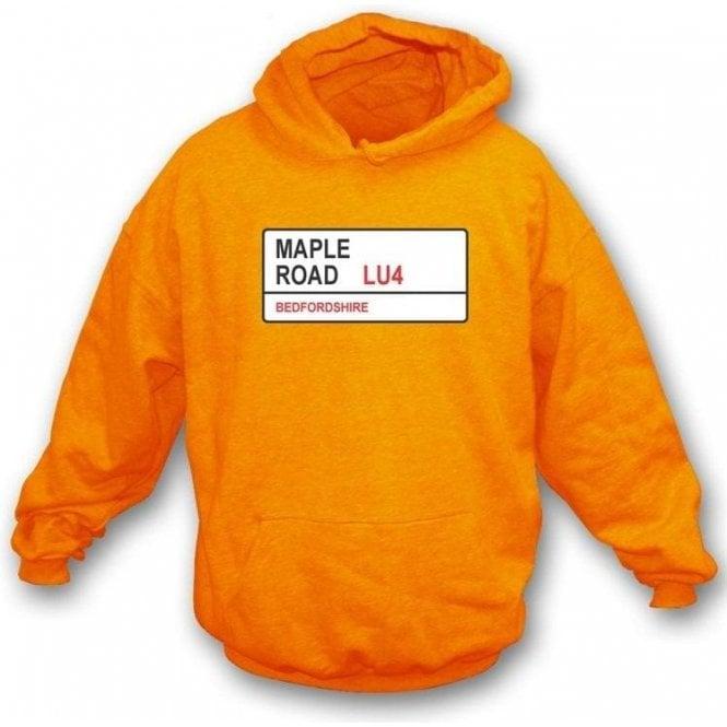 Maple Road LU4 Hooded Sweatshirt (Luton Town)