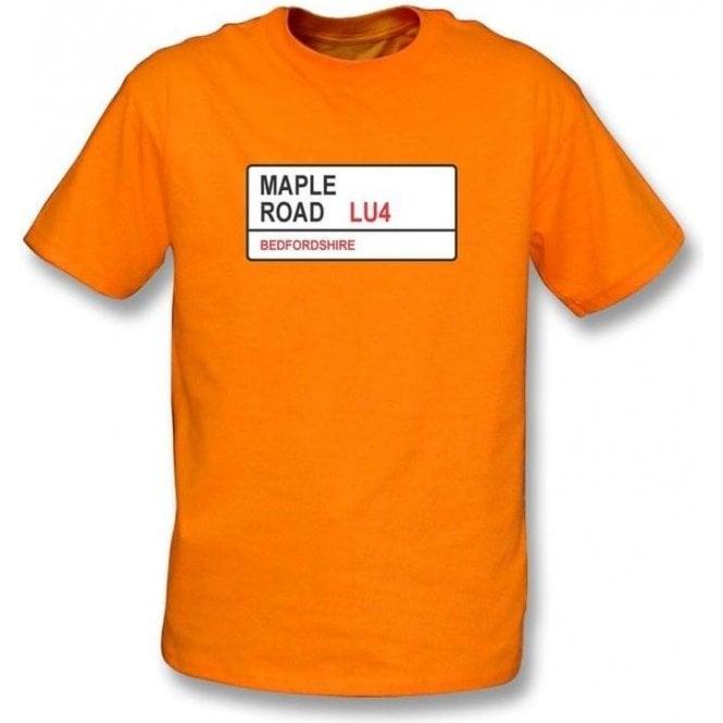 Maple Road LU4 T-Shirt (Luton Town)
