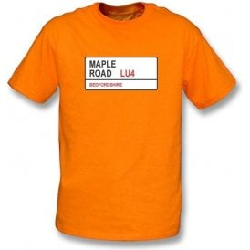 Maple Road LU4 T-Shirt (Luton Town)