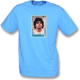 Maradona 1986 (Argentina) Light Blue T-Shirt